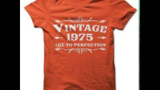 Made in 1975 T Shirts And Hoodies