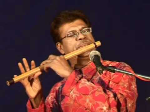pratham tula wandito by salil datey on flute.mp4