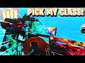 my SUBSCRIBER picked my SWITCHBLADE X9 CLASS! (BO4 SWITCHBLADE NUCLEAR GAMEPLAY)