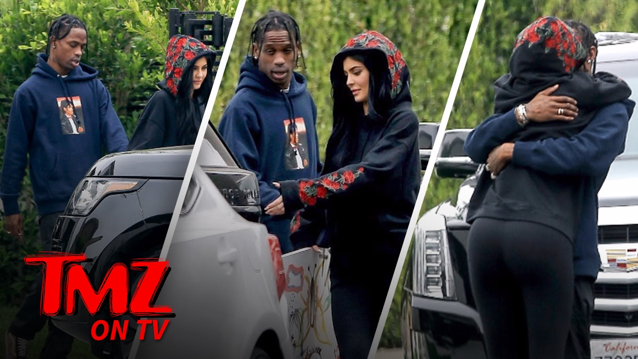 When did kylie and travis start dating