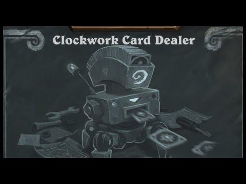Baumi plays Clockwork Card Dealer