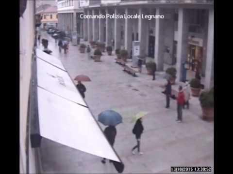 Spaccata in centro a Legnano