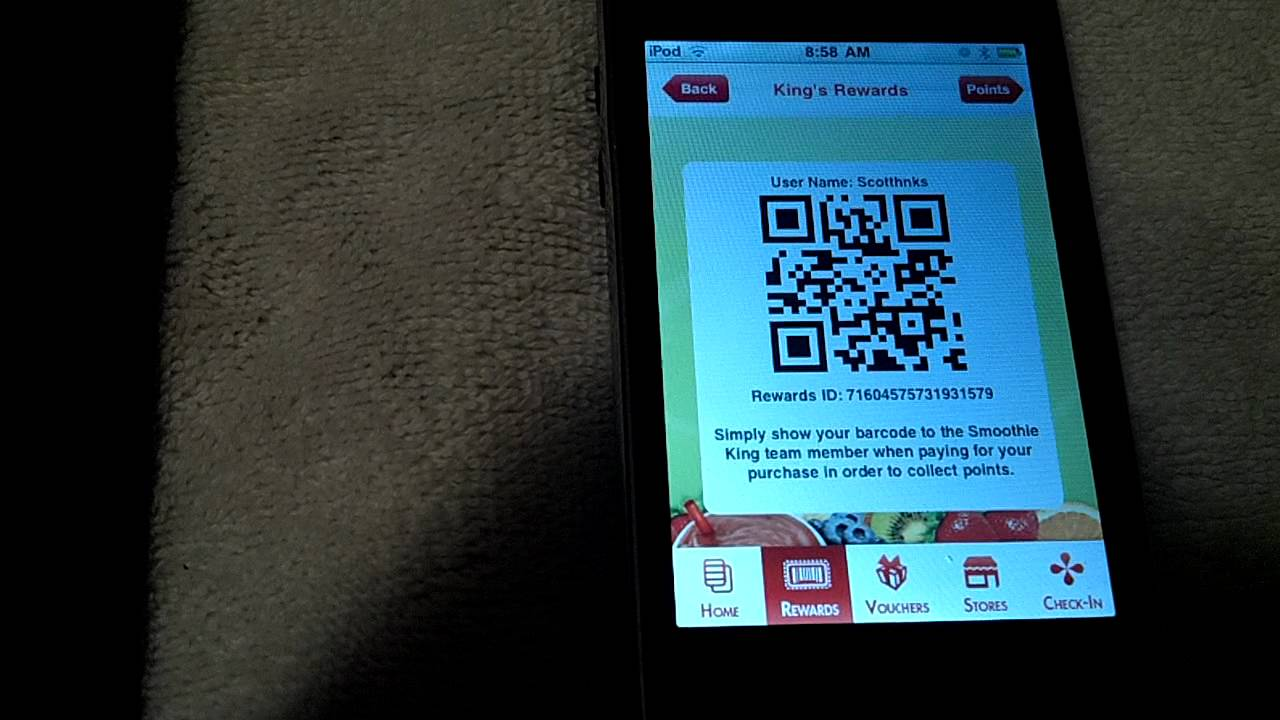 Smoothie King Customer Loyalty App