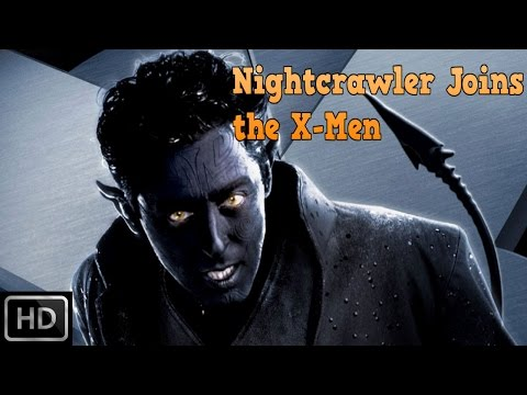 X2: X Men United - Nightcrawler Joins the X-Men/ X-Men recruit Nightcrawler [1080p] [English]