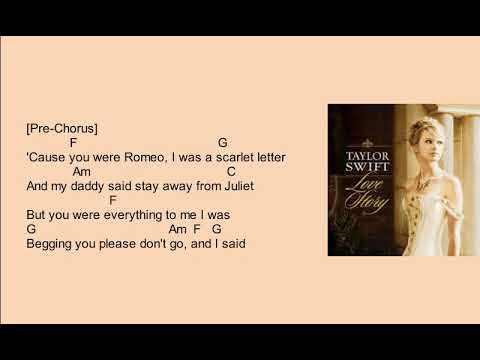 LOVE STORY-TAYLOR SWIFT(CHORDS AND LYRICS)