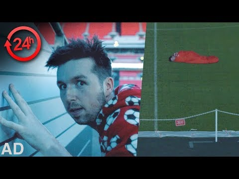 24 HOURS IN A FOOTBALL STADIUM