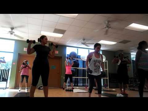 Ripped Fitness class at the YMCA