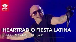 Nicky Jam + Pitbull + Enrique Iglesias & More | iHeartRadio Fiesta Latina ReCap