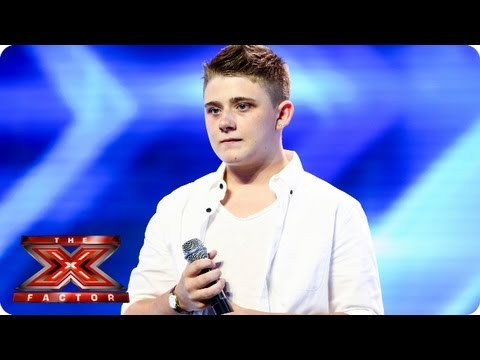 Nicholas McDonald sings A Thousand Years  Arena Auditions Week 3  The X Factor 2013