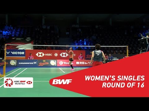 R16 | WS | Saina NEHWAL (IND) vs Akane YAMAGUCHI (JPN) [2] | BWF 2018