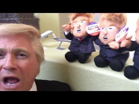 Donald Trump Impersonator John Di Domenico Pull My Finger Potus