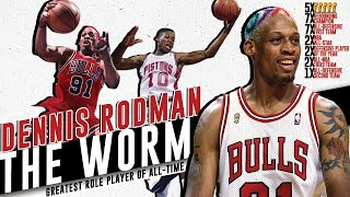 Dennis Rodman (The Menace): The NBA's All-Time Best Rebounder