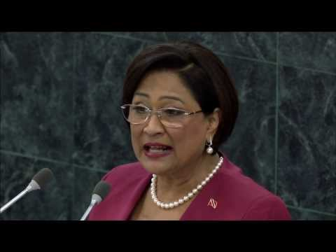 Prime Minister of the Republic of Trinidad & Tobago, Kamla Persad-Bissessar's Speech at 68th GA