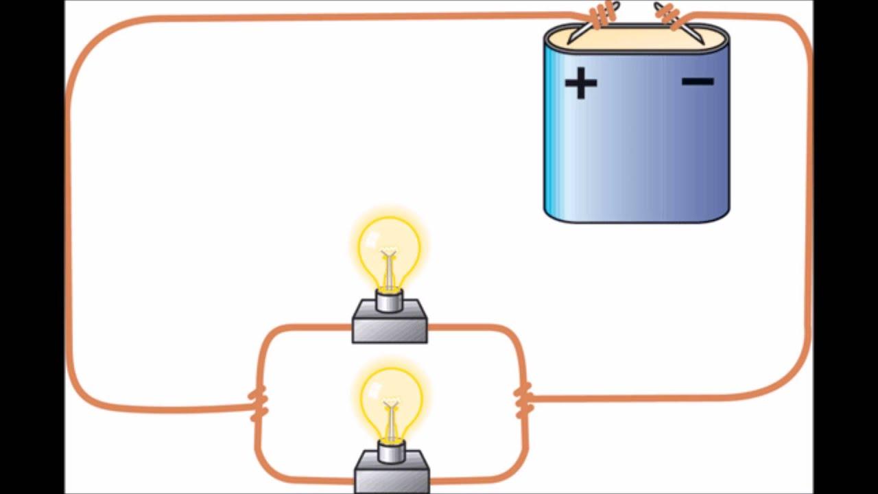 Circuito Electrico En Serie : Circuito electrico paralelo youtube