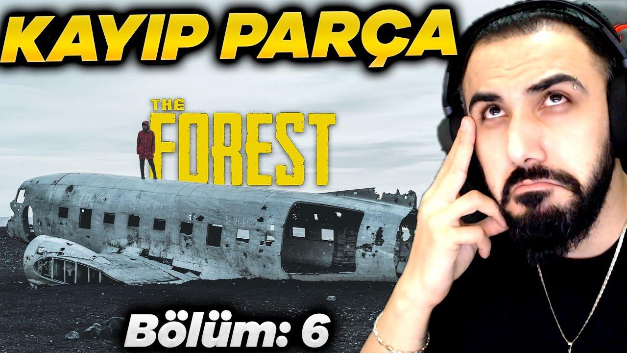 UÇAĞIN KAYIP PARÇASINI BULDUK!! THE FOREST (Bölüm: 6)   Barış Can