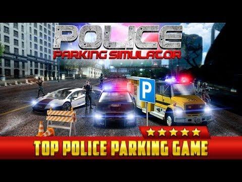 3D Police Parking Simulator Game iPhone/iPad GamePlay