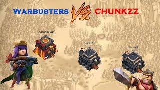 Clash of Clans War Recap: Warbusters vs CHUNKZZ