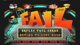 Crash Bash - Crash Ball Gem Challenge