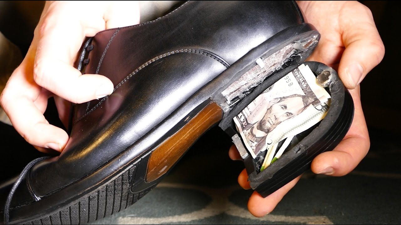 The Best Hiding Place Ever How To Make A Spy Shoe Safe