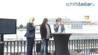 Costa neoRomantica stört TUI Cruises Pressekonferenz