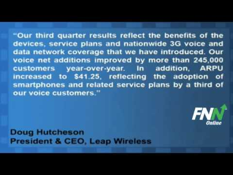 Leap Wireless Posts Wider Than Expected Q3 Loss