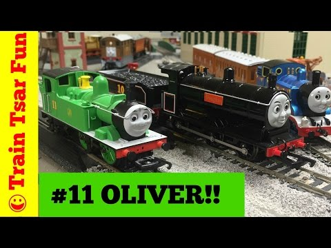 Thomas & Friends OLIVER Hornby OO Gauge Model Train -with DOUGLAS