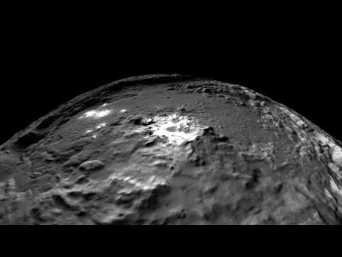 NASA VR: Fly Over Ceres with the Dawn Spacecraft (360 video)