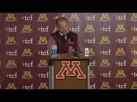 Press Conference: Coach Fleck on 24-17 Homecoming Win Over Illinois