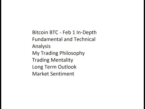 Bitcoin BTC - Feb 1 In-Depth Fundamental and Technical Analysis