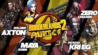 BORDERLANDS 2 CO-OP / PART 01 - INICIO DE TUDO #GAMEPLAY PT/BR #4Players