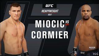 EA Sports UFC 4 - Stipe Miocic vs Daniel Cormier - Gameplay (Xbox One X HD) [1080p60FPS]