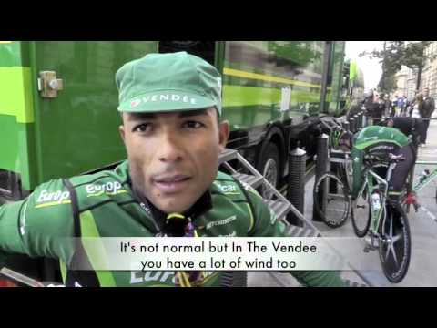 Interview with Europecar Rider Yohann Gene At stage 8 of The Tour Of Britain