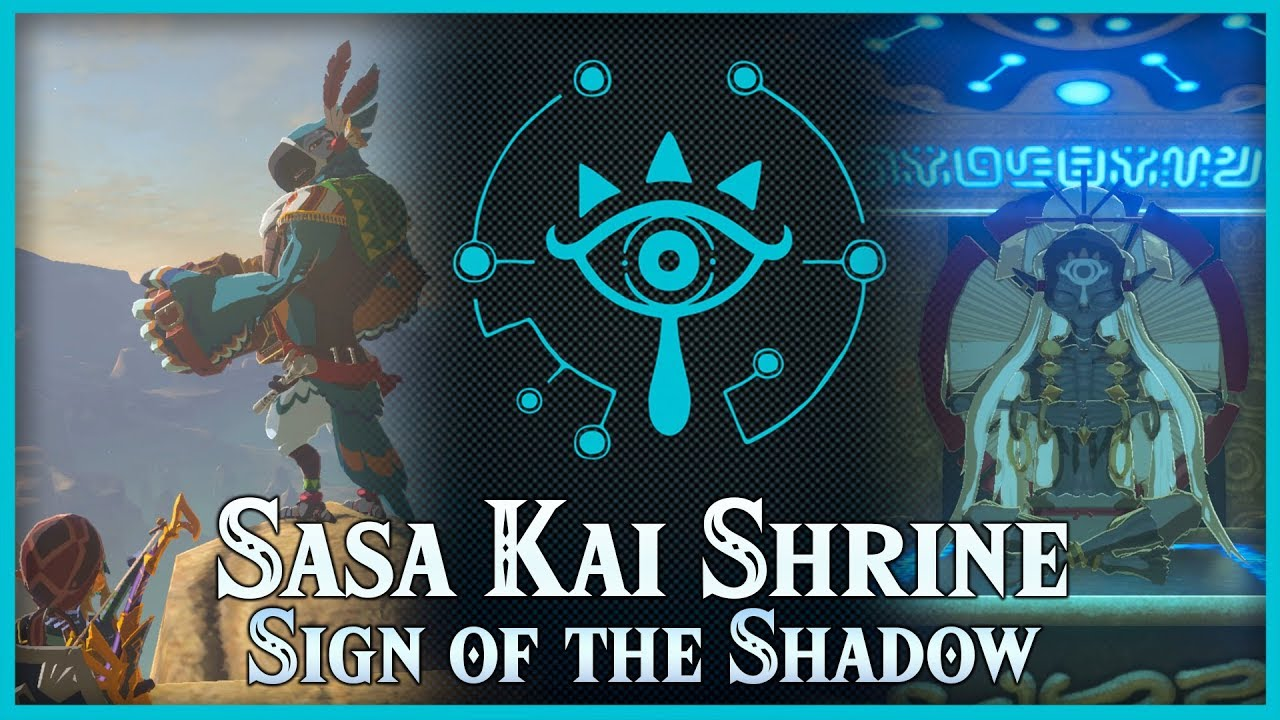 Sasa Kai Shrine - The Legend of Zelda: Breath of the Wild