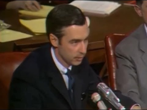 1969 Mister Roger S Senate Hearing Hd Youtube