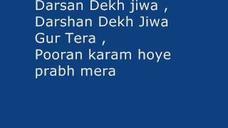 Darshan Dekh Jeewa Gur Tera -my own music -Devotional song -L1M1Mr
