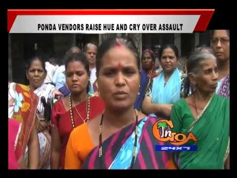 Ponda vendors raise hue and cry over assault