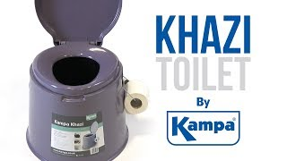 Kampa | Khazi Portable Toilet | Product Overview