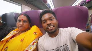 My Mom's Reaction to INDIA's MOST ADVANCED TRAIN !! 😍😍😍 |  VLOG² 38