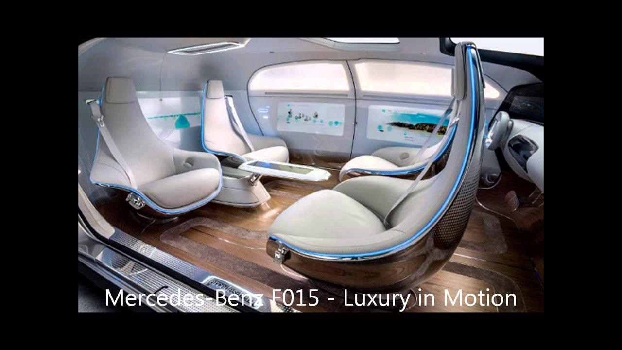 Mercedes F 015 >> Futuristic Mercedes-Benz F 015 Luxury - YouTube