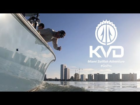 KVD - Offshore Sailfish Adventure - Miami - With GoPro