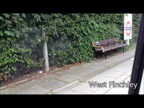 London Underground | Northern Line FULL JOURNEY: High Barnet to Morden via Charing Cross