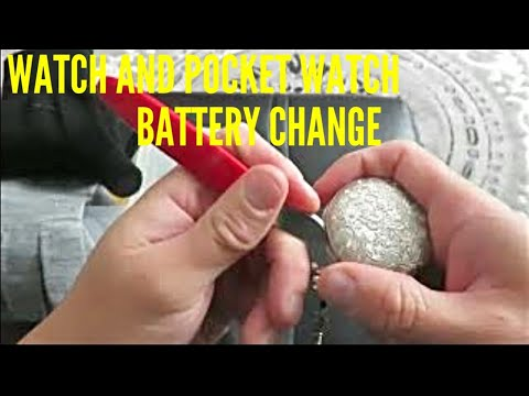 Watch And Pocket Watch Battery Change