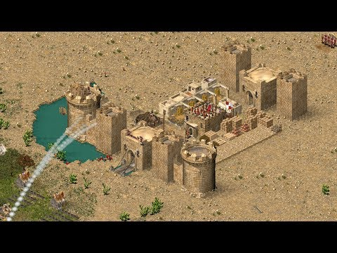 Stronghold Crusader HD - BUILDING A CASTLE