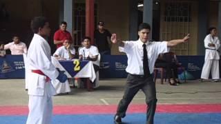 Torneo Nacional Karate-Do. Agusto Cesar Sandino 3