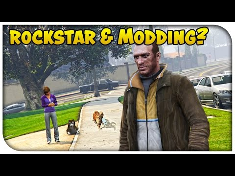 GTA 5 Online - Will Rockstar Ever Support Mods? & Dedicated Servers a Possibility! (Squadcast #55)