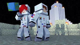 Minecraft - Perdidos No Espaço #01 - Onde Estamos? Precisamos de Água!!