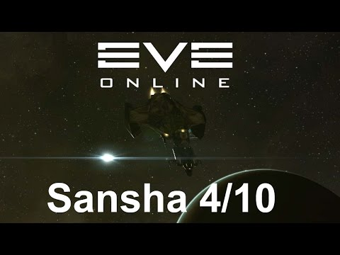 EVE Online - Sansha's nation occupied mining colony