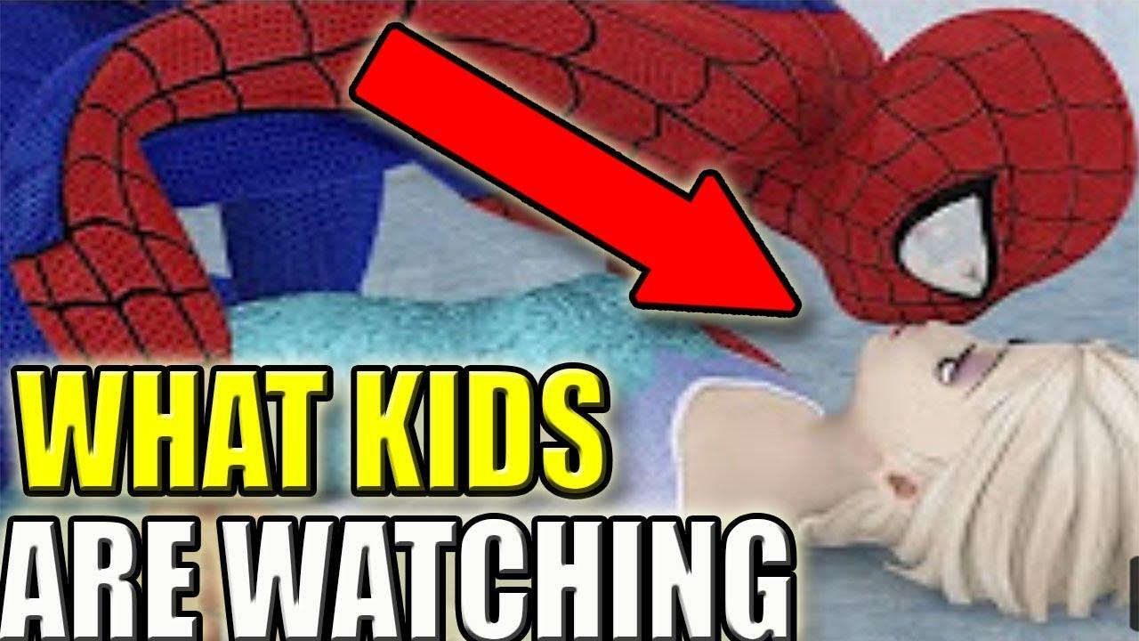 Spiderman Cartoon vidéos porno ébène Babe Hardcore