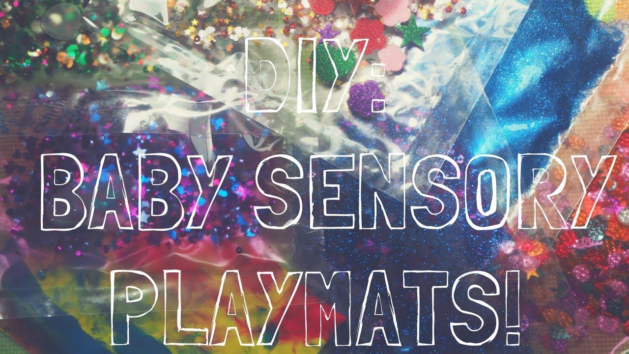 DIY: BABY SENSORY PLAYMATS! - YouTube