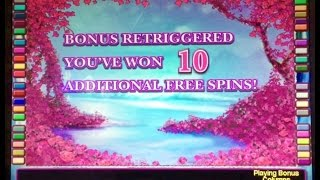 White Orchid slot (3 bonuses- Great win!)